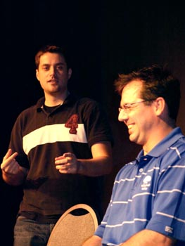 Matt& Craig improv comedy in the 2010 Baltimore Improv Festival