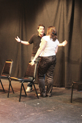Matt& Grace improv comedy in the Philly Fringe Festival