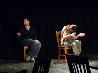 Matt& Joey improv comedy at the Oberlin Improv Conference