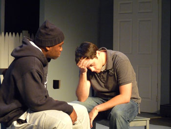 Matt& Khalil improv comedy in the Philadelphia Improv Festival