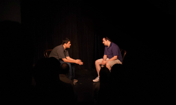 Matt&, improv comedy with an audience member, at Duofest