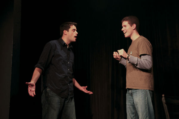 Matt& Tim, improv comedy at Philly Improv Theater