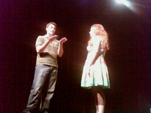 Matt& Meg improv comedy in the 2010 Del Close Marathon