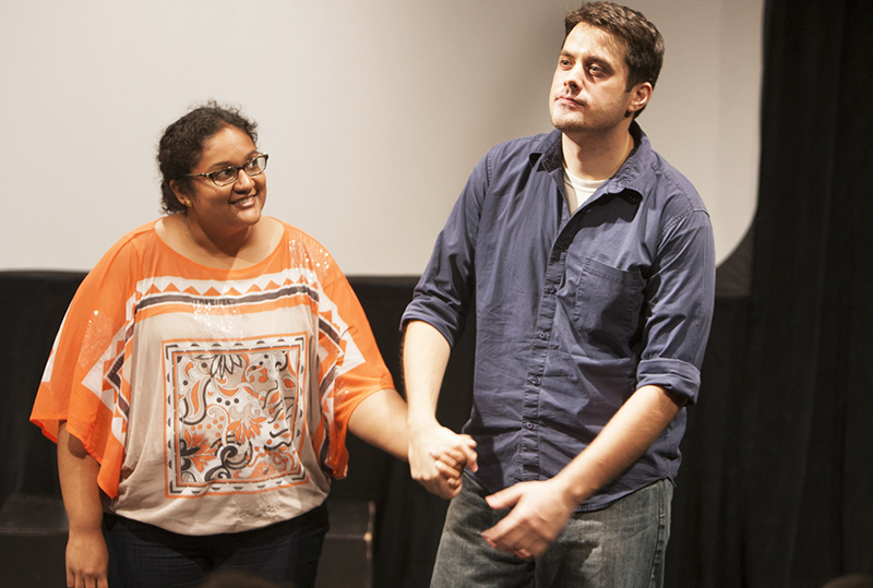Matt& Nathra improv comedy in the Philadelphia Fringe Festival