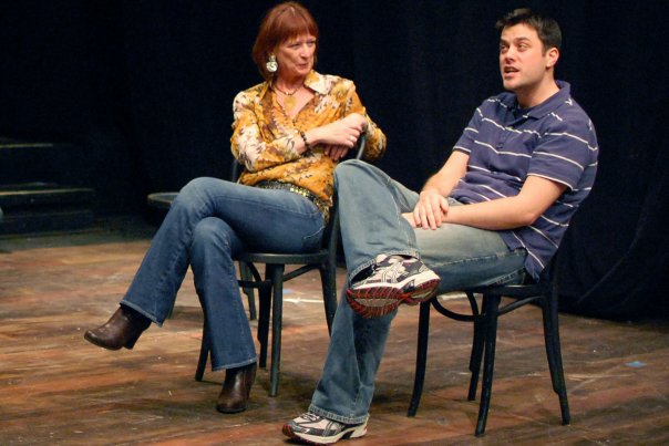 Matt& Pam improv comedy at Penn State's first annual improv festival